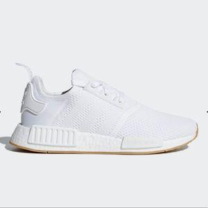 adidas Original NMD_R1 Cloud White Shoes NWT